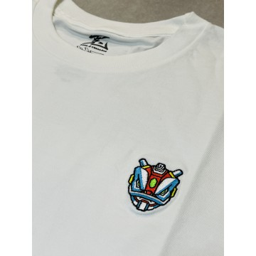 "SC Braver ""Be Brave"" embroidery tee (white)"