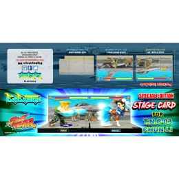 Combined Background Card set 03: (Only Applicable for T.N.C.-03 Chun-Li & T.N.C.-04-Guile)