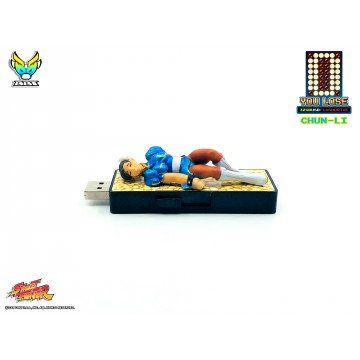 "Street Fighter ""You Lose"" 32gb USB flash Drive - Chun-Li (Pre-Order)"