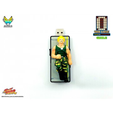 """Street Fighter """"You Lose"""" 32gb USB flash Drive - Guile (Pre-order)"""