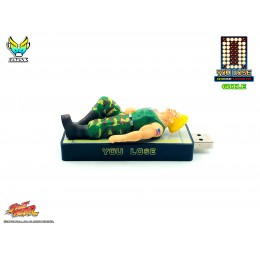 "Street Fighter ""You Lose"" 32gb USB flash Drive - Guile"