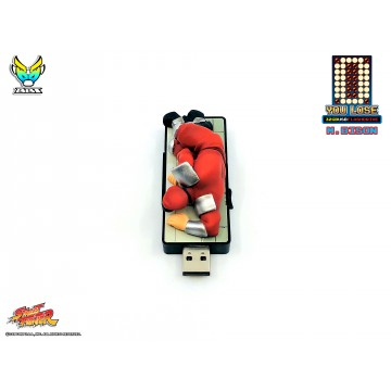 "Street Fighter ""You Lose"" 32gb USB flash Drive - M.Bison"
