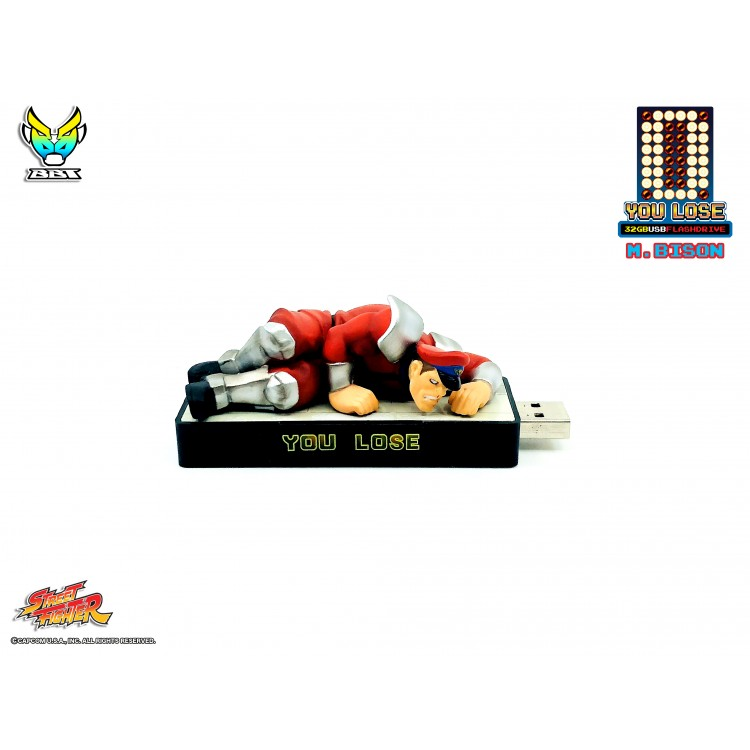 "Street Fighter ""You Lose"" 32gb USB flash Drive - M.Bison (Pre-order)"